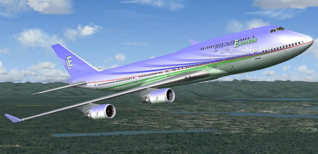 Birds of Paradise - Boeing 747-400 PMDG
